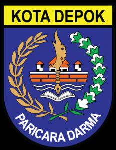 371px-Lambang_Kota_Depok