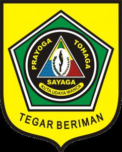 Logo atau Lambang Kabupaten Bogor Transparan PNG